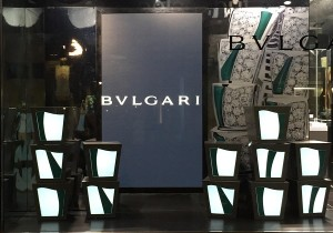 LED Window Display - Sunglass Hut