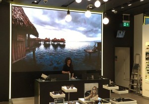 LED Video Wall - Westfield Sunglass Hut