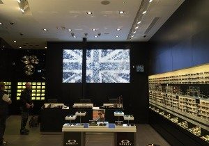 LED Wall - Oxford Street Sunglass Hut